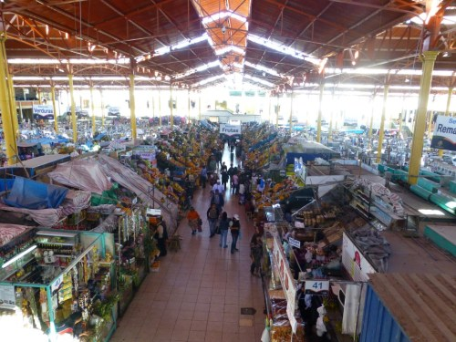 Mercado San Camilo - The Commercial Center of Old Arequipa. You can find a little bit of everything here.