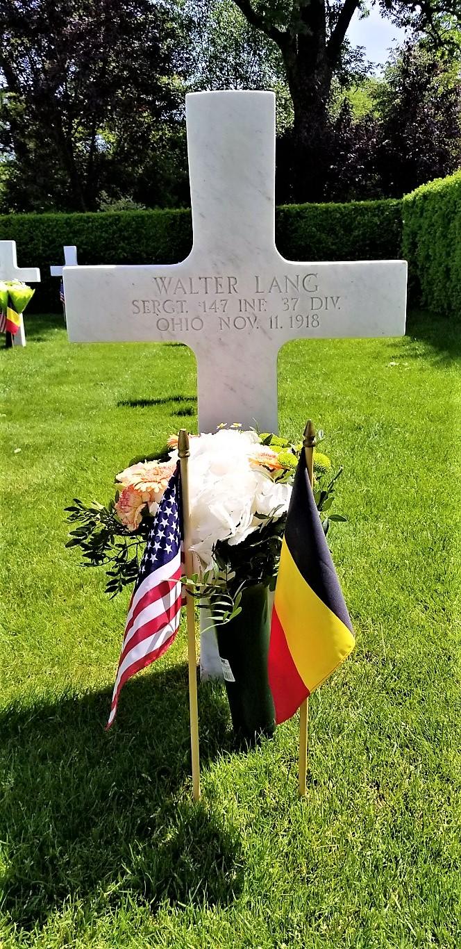 American Cemetery WWI - Fallen Soldier