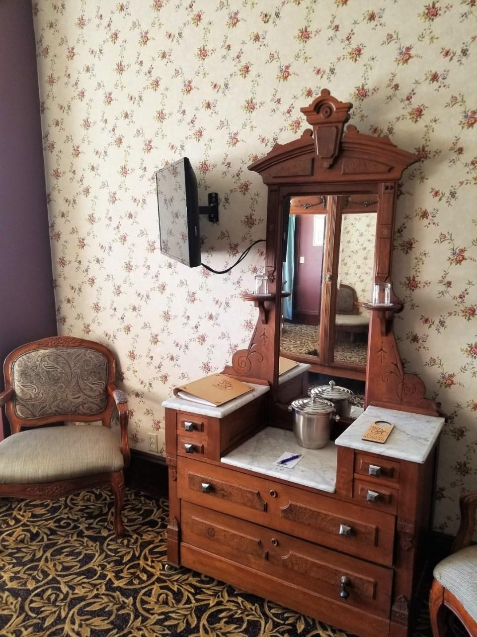 Standard Furnishing at the Inn