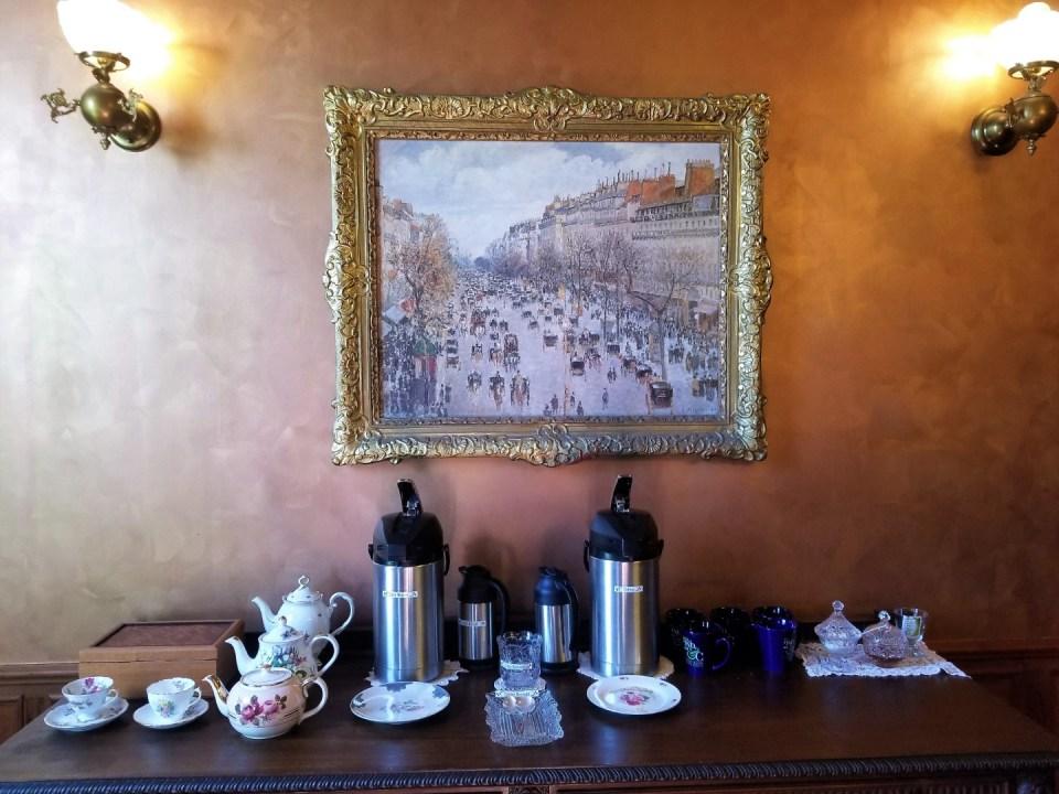 Breakfast Beverages at the Inn