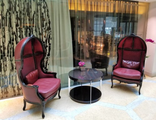 Club Chairs in the Lobby