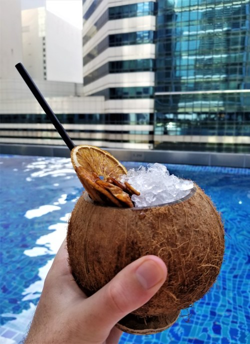 Cocktail from the Pool Bar