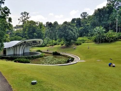 Performance Space at the Singapore Botanic Gardens