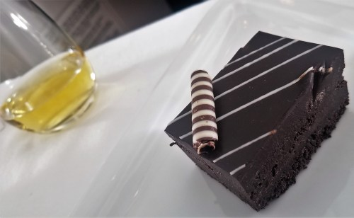 Austrian Airlines Dessert Chocolate Cake