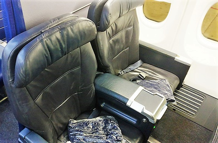 United Domestic First Class Seats