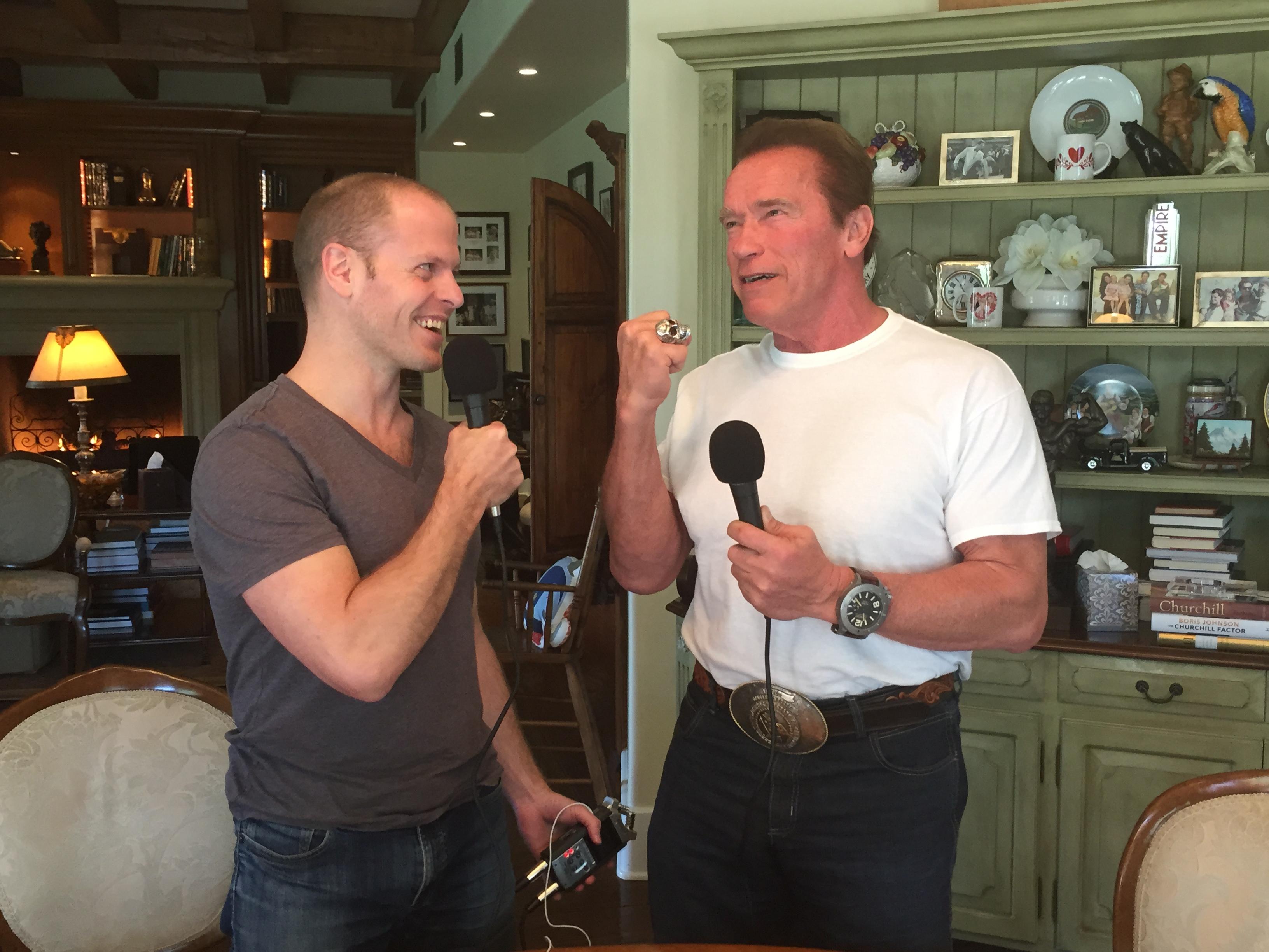 Tim Ferriss Interviews Arnold Schwarzenegger On