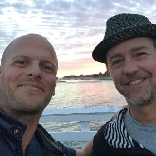 Ed Norton and Tim Ferriss