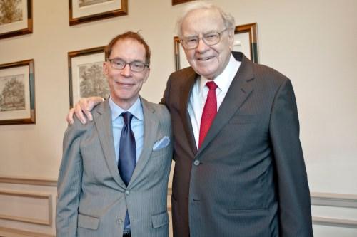 Adam Robinson and Warren Buffet