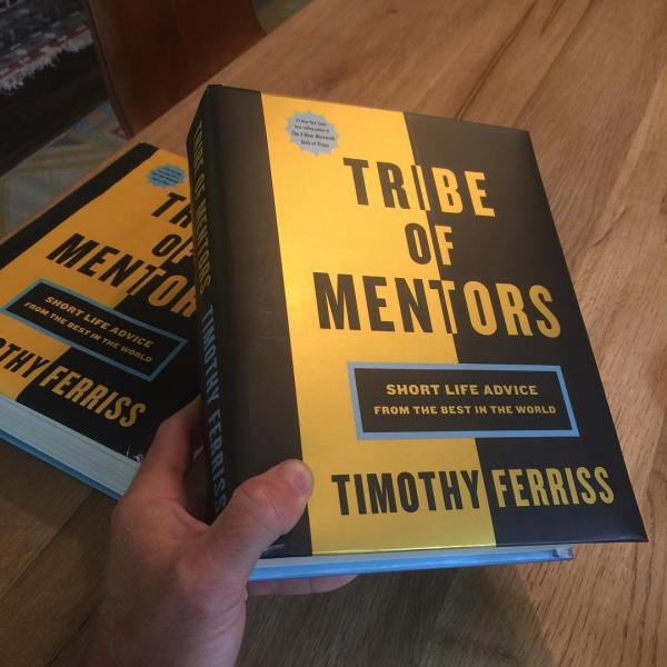 TRIBE OF MENTORS — Sample Chapter and a Taste of Things to Come