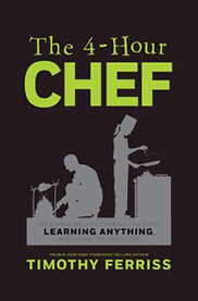 Book cover of The 4-Hour Chef by Tim Ferriss.