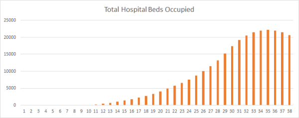 Predicting Hospital Capacity: Why to Act Early, How to Think About Lag Time, and a Model You Can Use
