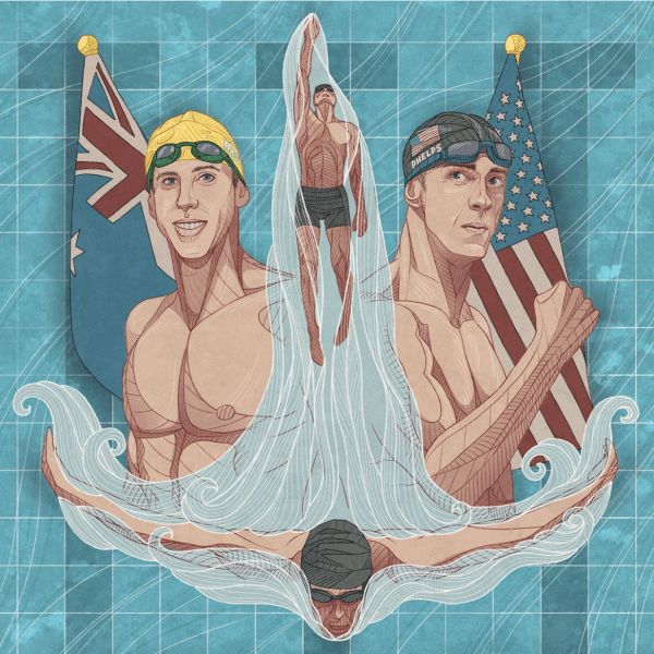 Michael Phelps and Grant Hackett — Two Legends on Competing, Overcoming Adversity, Must-Read Books, and Much More (#494)