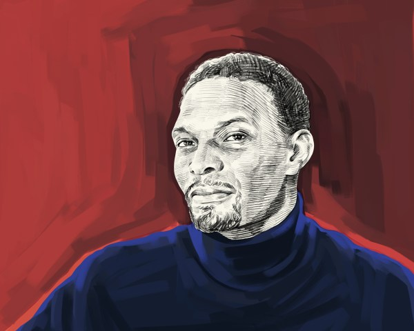 Artist's rendering of Chris Bosh
