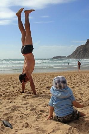 Strandunterhaltung