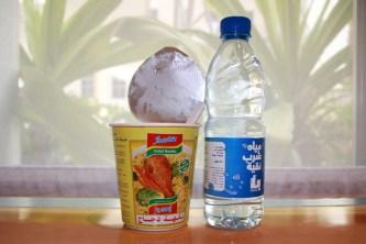 Nudeln auf Arabisch