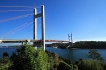 Mächtig Spannung: Die Tjörn Brücke