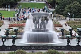 Duschen im Vigelandspark