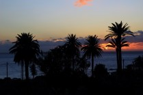 Pünktlich zum Sonnenuntergang: Rückkehr ins Valle