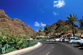 Pittoreskes Parken bei El Guro