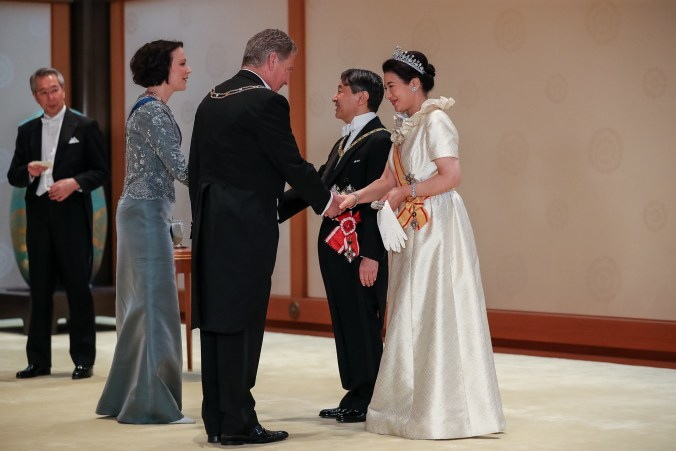 Japanin keisaripari_Sauli ja Jenni