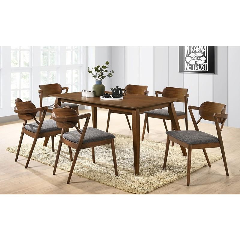 table 6 chaises en bois design