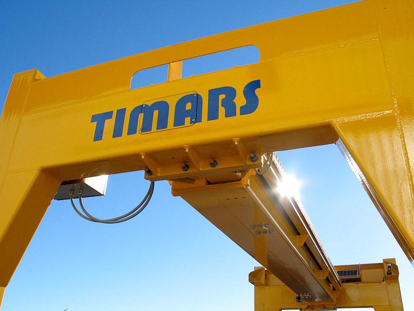 Timars logo på OHE verktyg.