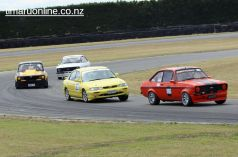 (666) Barry Dorking, from Dunedin, in a 1978 Ford Escort RP 2000