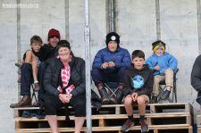 Brendan & Katya Caird and family, enjoying the racing.