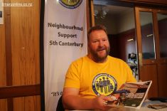 Rob Coleman, Neighbourhood Support SC coordinator