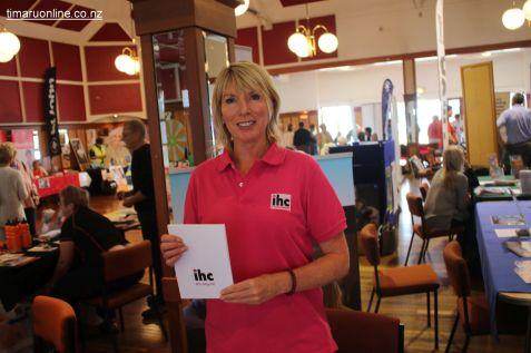 Belinda Brand, volunteer coordinator for IHC