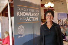 Linda Gaskin, promoted Outward Board