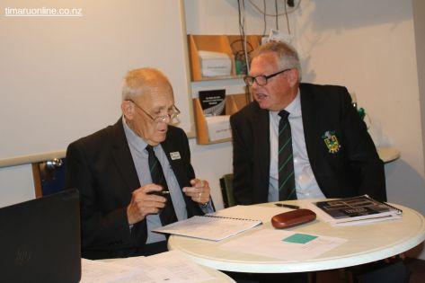 Russell Leech and Craig Calder
