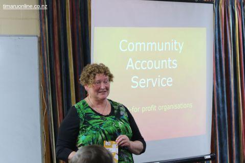 Louise Billinghurst introduces the new Community Accounts Service