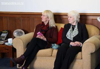 Liz Shea & Lyn Cruden (Community volunteers for United Way NZ)