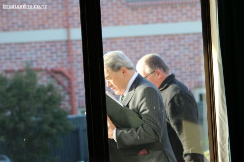 WInston Peters in Town 0021
