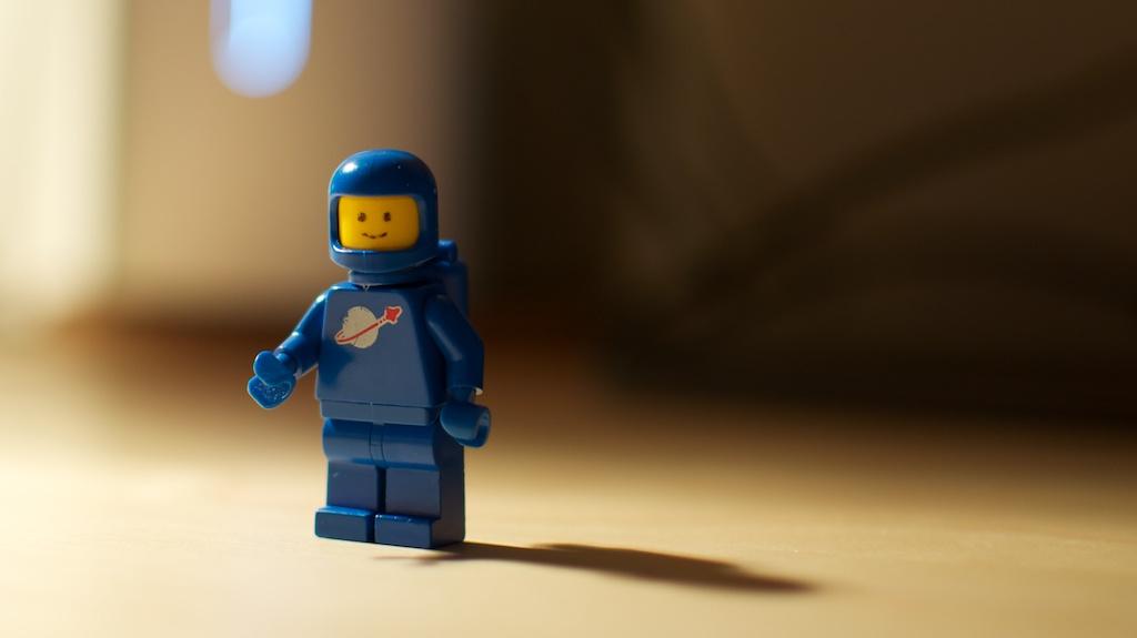 Benny Lego Spaceman