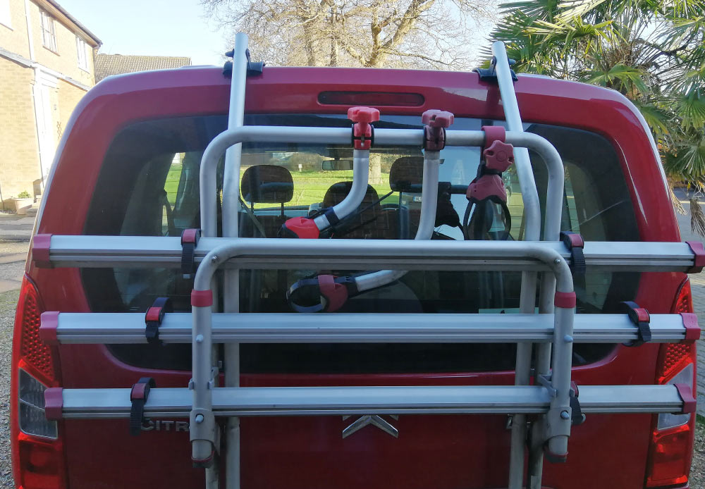 Berlingo Fiamma Bike Rack
