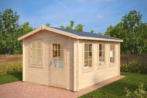 Garden Log Cabin Eva C 12m² / 40mm / 3,2 x 4,4 m