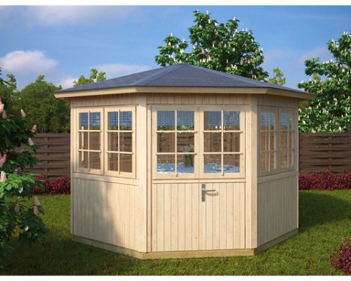 Octagonal Summer House Festival 9,5m² / 21mm / 3,6 x 3,3 m