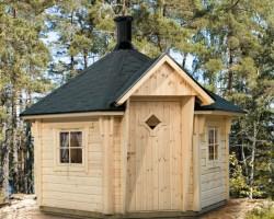 Finnish BBQ Hut Grillkota 9,5m² / 42mm / 3,6 x 3,3 m