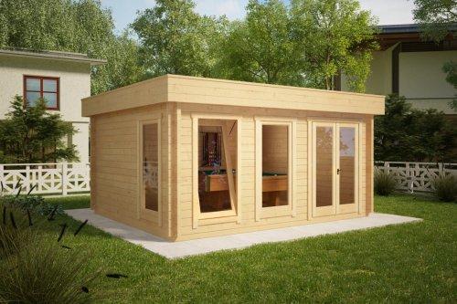 Large Garden Summer House Ian D 18m² / 50mm / 5 x 4 m