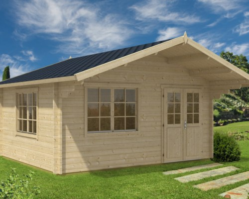 Large Summer House Carmen 18m² / 50mm / 5 x 4,1 m