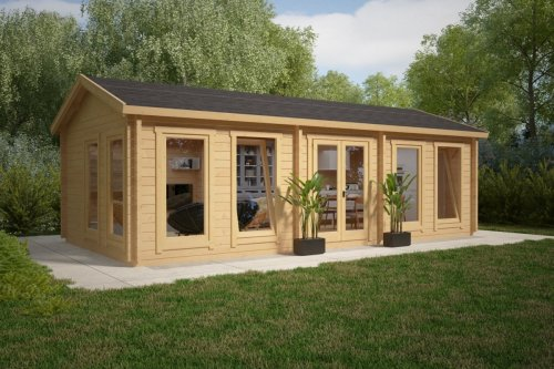 Large Garden Room C 30m² / 70mm / 4 x 8 m