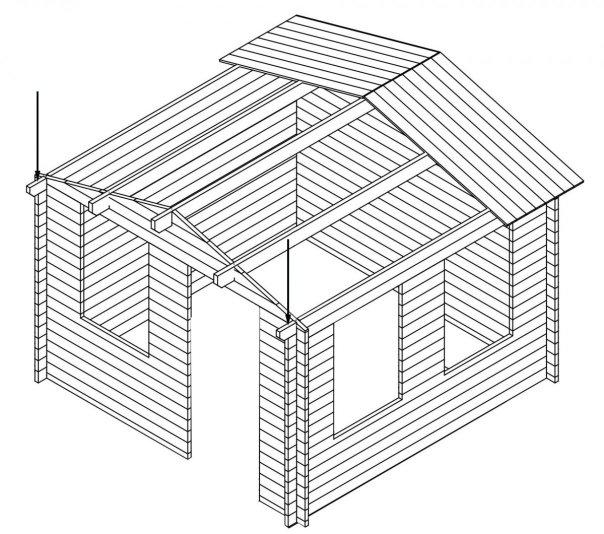 BILD 2A - Assemble Timber Cabins