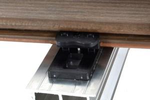 Pedestals-Alu und WPC Clip Universal