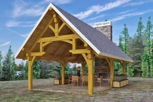 Woodhouse Hammer Beam Pavilion Kit