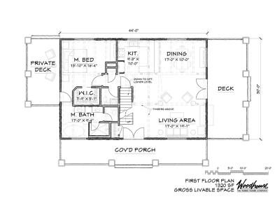 Adirondack 1st Floor Plan