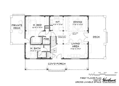 AspenRidge 1st Floor Plan