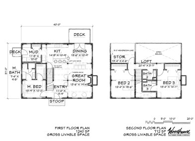 BrookHaven Floor Plan
