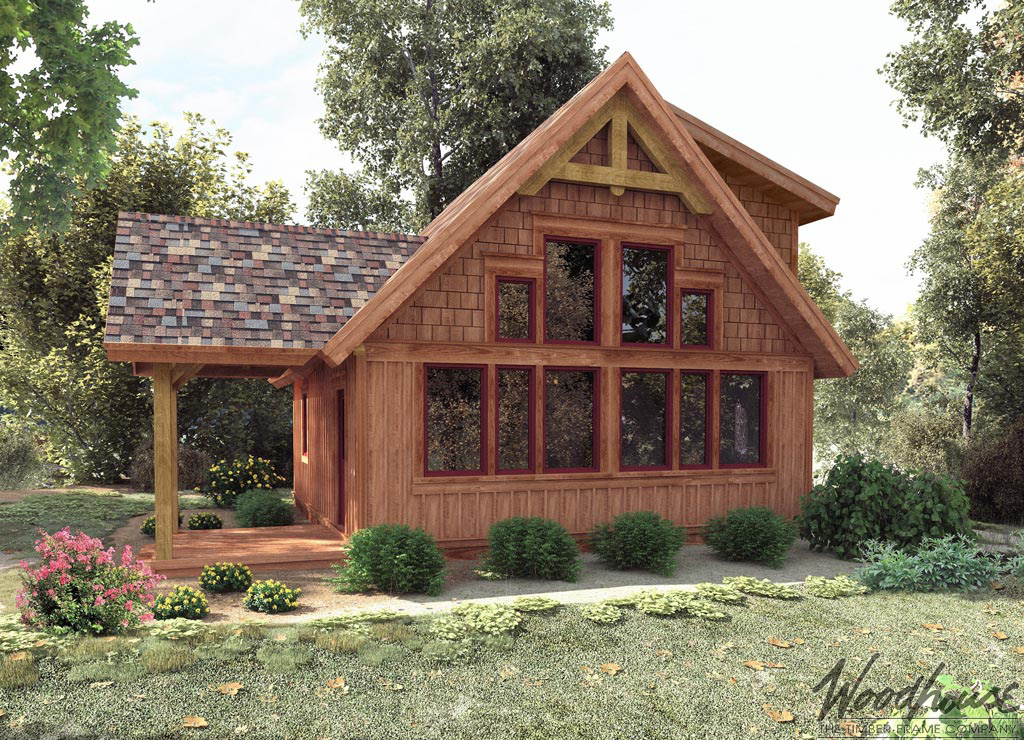 Timber Frame Home Plans Woodhouse The Timber Frame Company